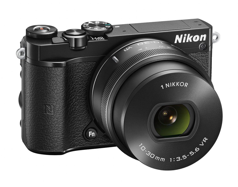 Appareil photo HybrideNikon 1 J5 + Objectif Nikkor VR 10-30mm f/3.5-5.6 PD-Zoom - Noir