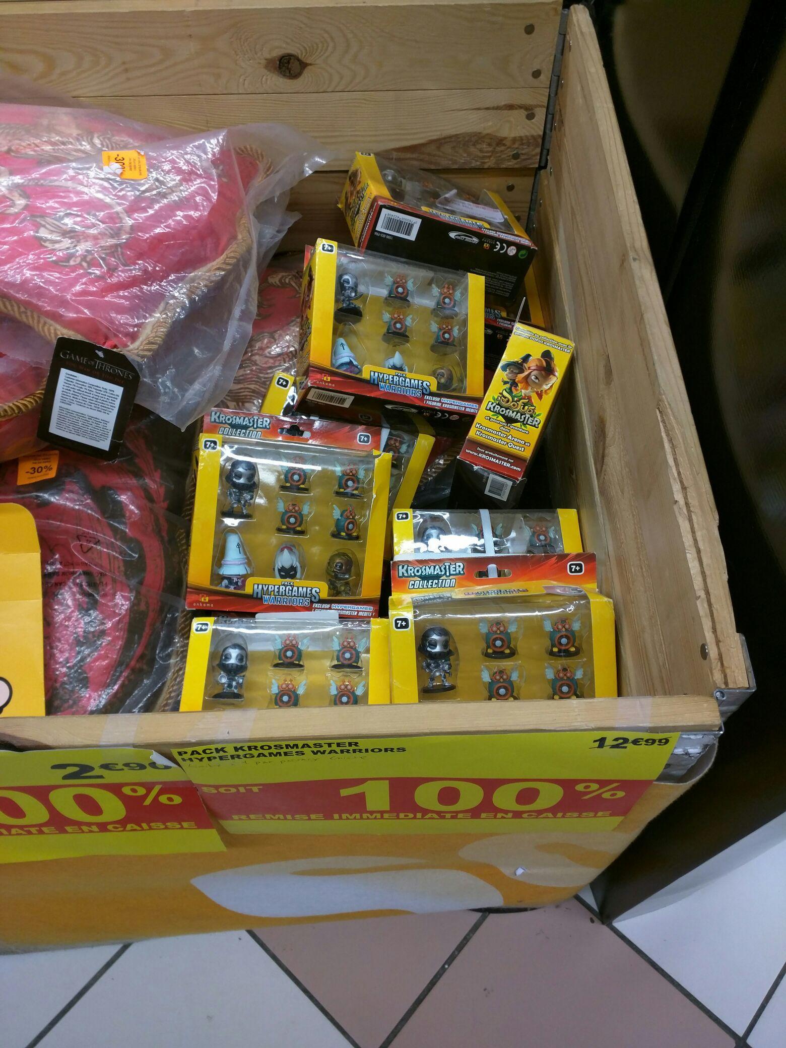 Figurines Krosmasters Hypergames Warriors et/ou Bracelets Hypergames offerts pour tout achat