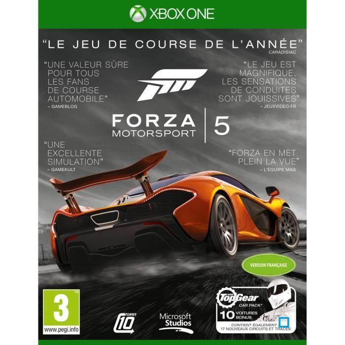 [Membres Gold] Sélection de jeux en promo - Ex : Forza Motorsport 5  Edition GOTY sur Xbox One (Dématérialisé) à 17.99€ (Store France) ou