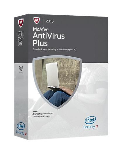 Logiciel McAfee AntiVirus Plus Gratuit (Licence de 6 mois)