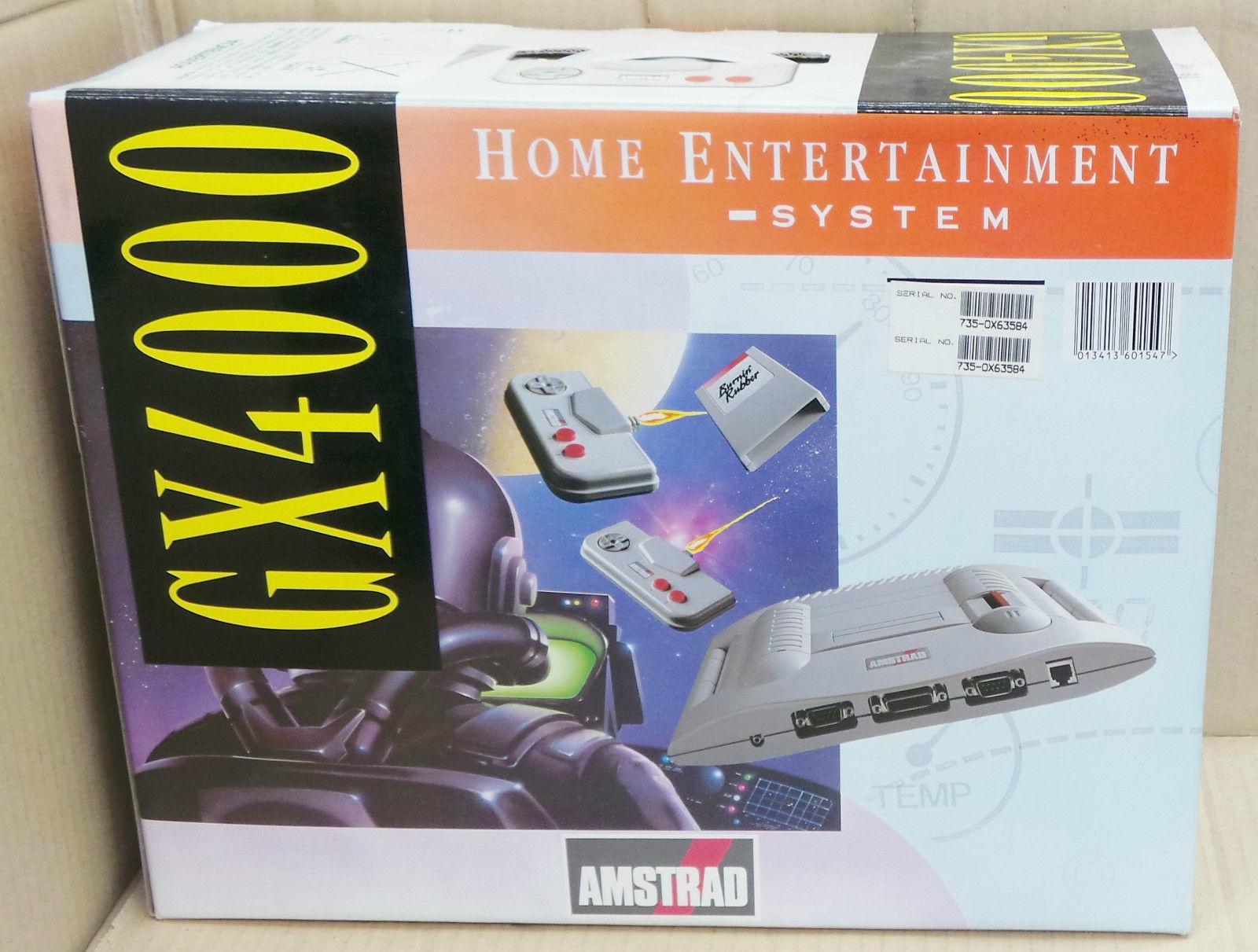 Console Amstrad GX 4000 Neuve sous boite
