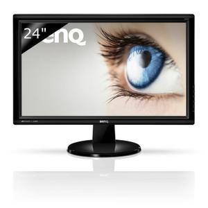 Ecran PC 24'' BenQ GW2455H - Full HD, 16/9, 8ms (VGA/DVI/HDMI)