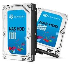 """Pack de 2 disques durs internes 3.5"""" Seagate Nas ST3000VN000 - 2 x 3 To"""