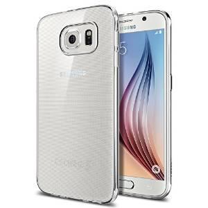 Coque  Spigen Liquid Crystal pour Samsung Galaxy S6