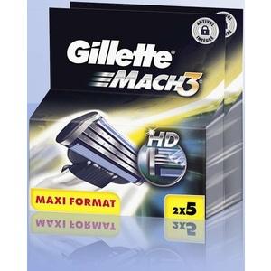 Lot de 2 x 5 Lames Gillette Mach 3 (-50% sur la carte)
