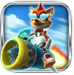 Jeu Rocket Racer R gratuit sur iOS et Android (au lieu de 8,99 €)