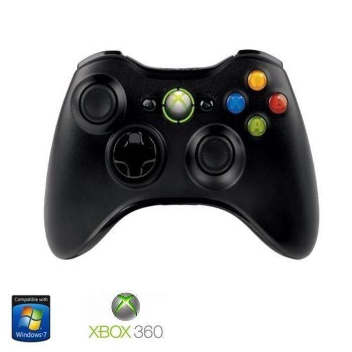 Manette Sans Fil Microsoft pour PC et Xbox 360