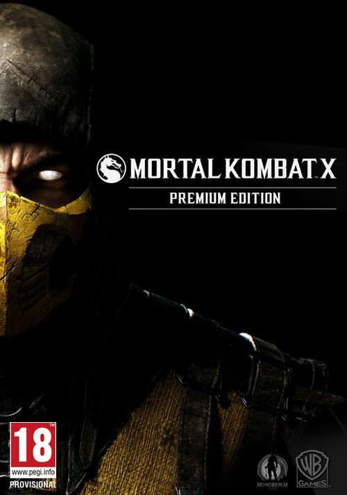 Mortal Kombat X Premium Edition sur PC (Steam)