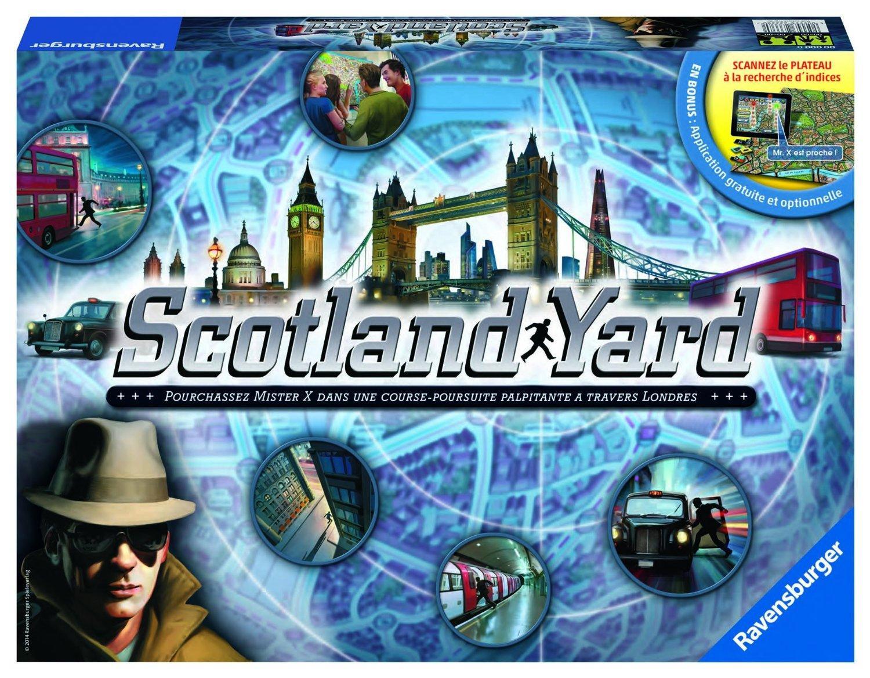 Jeu De Plateau Ravensburger 26637 - Scotland Yard