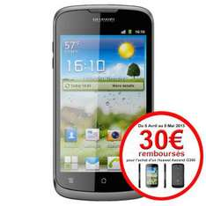 Smartphone Huawei Ascend G300 (Avec ODR de 30€)