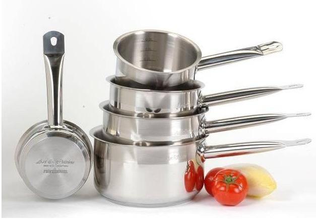 Batterie de cuisine set de 5 pièces (tous feux dont induction) Art & Cuisine