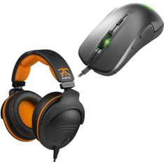 Pack Gaming SteelSeries : Casque 9H USB Fnatic Team Edition + Souris Rival 300