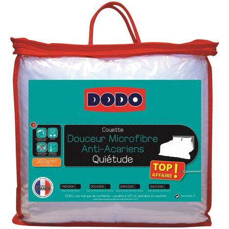 Couette Dodo Quietude en promotion - Ex : Taille 140 x 200 cm (avec 2€ sur la carte)