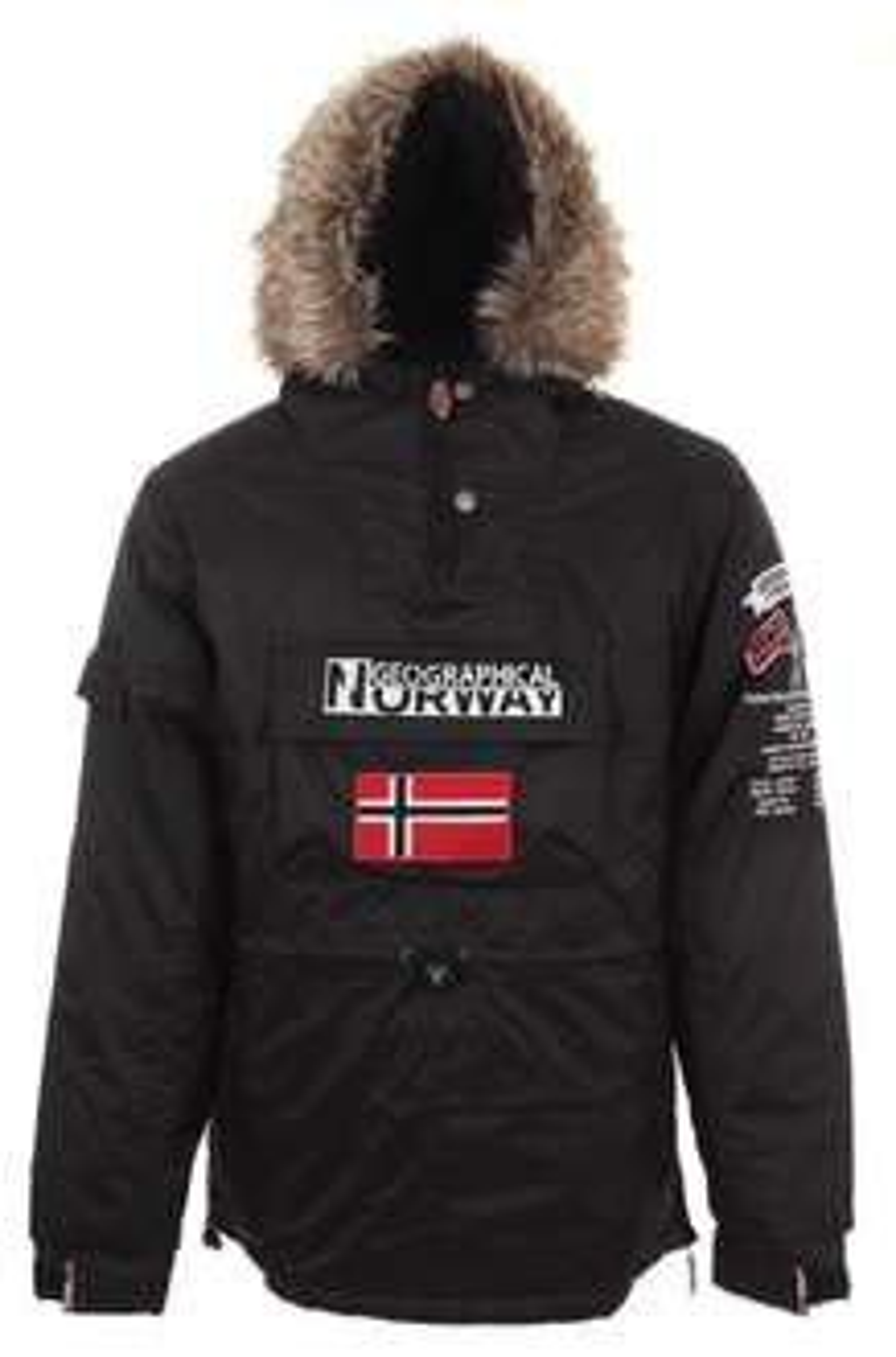 Doudoune Homme Geographical Norway Building - Noir