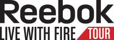 Reebok Live With Fire Tour : 2 cours de fitness gratuits (5 dates en France)