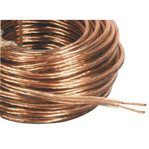 Philex 19806HS20 Câble haut-parleur  20 m (Clair à brin 42)