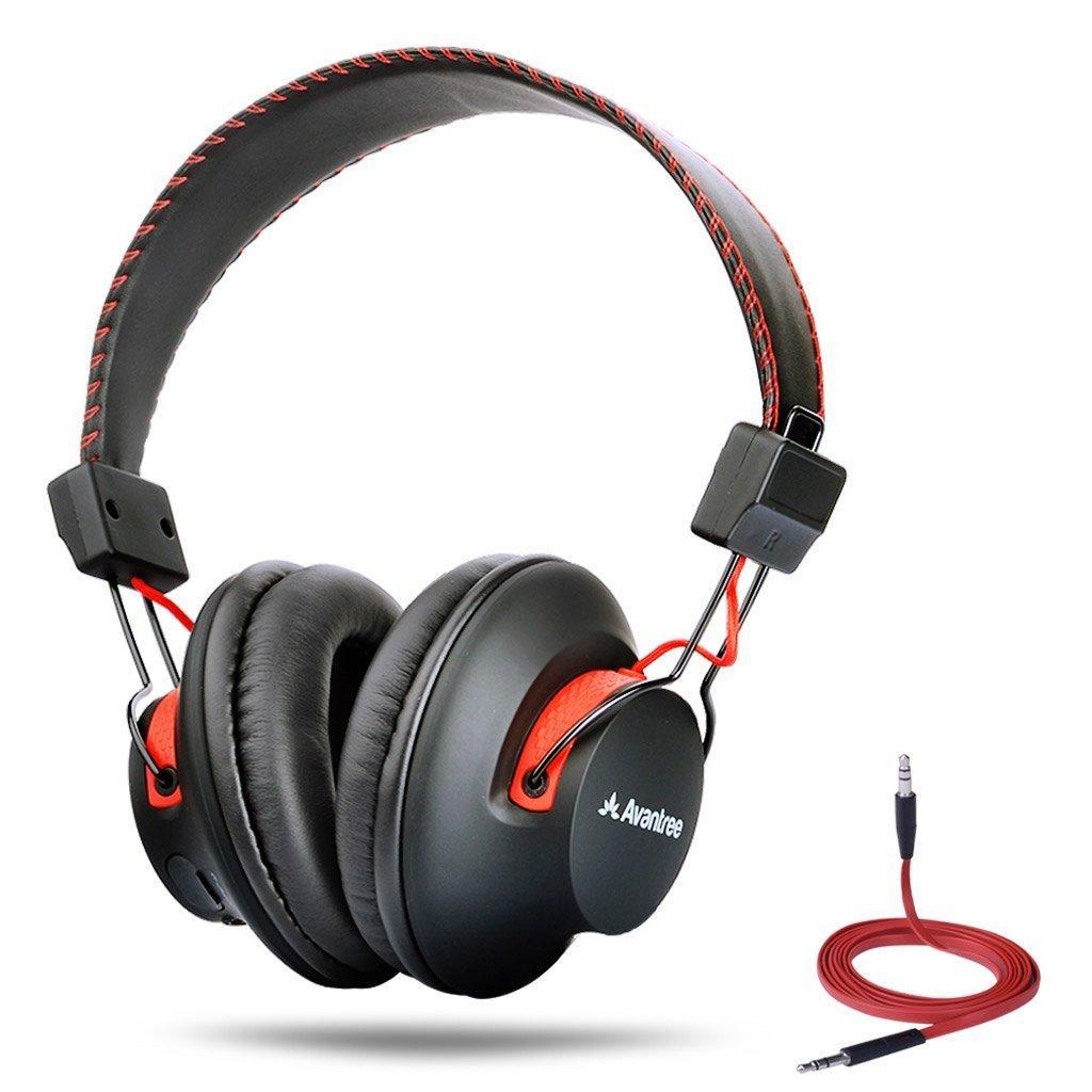 Casque Bluetooth   NFC - Noir/Rouge