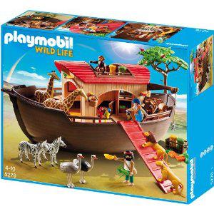 Playmobil 5276 Arche de Noé avec animaux de la savane