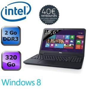 """PC portable Dell Inspiron 15"""" windows 8 avec ODR (40€)"""