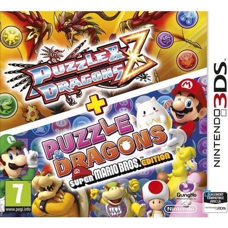 Jeu Puzzle & Dragons Z Puzzle + Dragons: Super Mario Bros. Edition sur 3DS