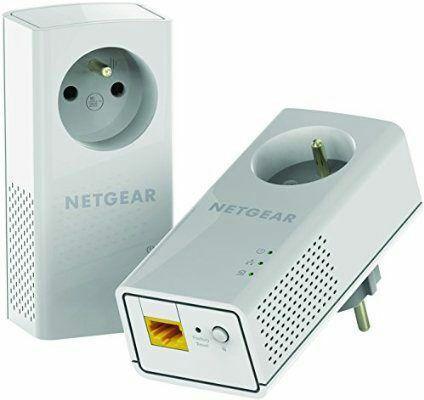 Pack de 2 Adaptateurs CPL Netgear PLP1200-100FRS - 1200 Mbps