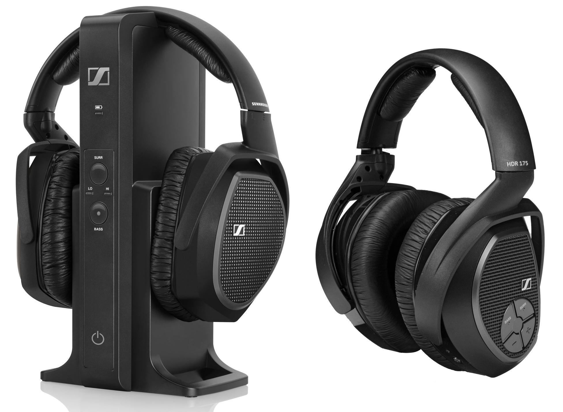 Pack Casque Hi-Fi Sennheiser RS 175 sans fil + Casque Sennheiser HDR 175
