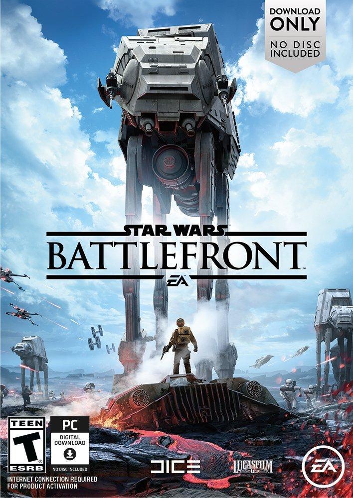 """Star Wars Battlefront Deluxe et Ultimate en promotion (+ DLC gratuit """"La bataille de Jakku"""")  [dématerialisé - Origin France]"""
