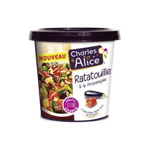 Légumes cuisinés micro-ondables Charles & Alice