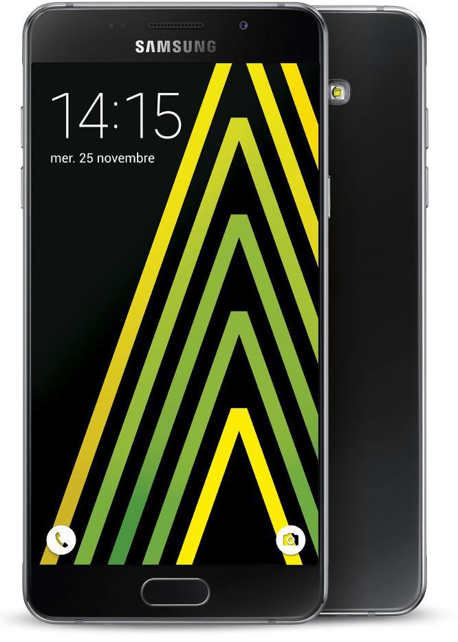 Smartphone 5.2' Samsung Galaxy A5 2016 + Etui Folio Samsung + Carte Micro SD 32Go (via ODR 50€)