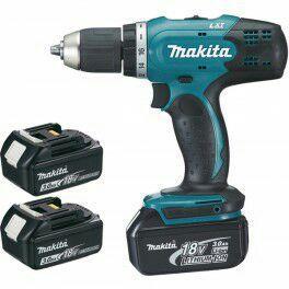 Perceuse visseuse Makita DDF453SFE 18V Li-Ion 3Ah 13 mm + 2 batteries
