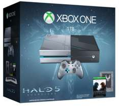Console Microsoft Xbox One Halo 5 Edition 1To + Halo 5 : Guardians + Rise of the Tomb Raider + Gears of War : Ultimate edition et Rare Replay en dématérialisé
