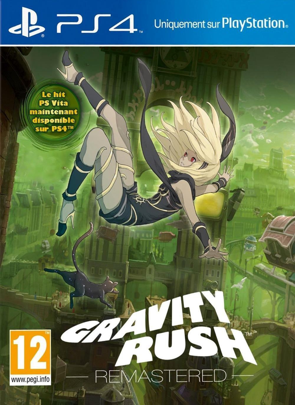 Jeu Gravity Rush Remastered sur PS4