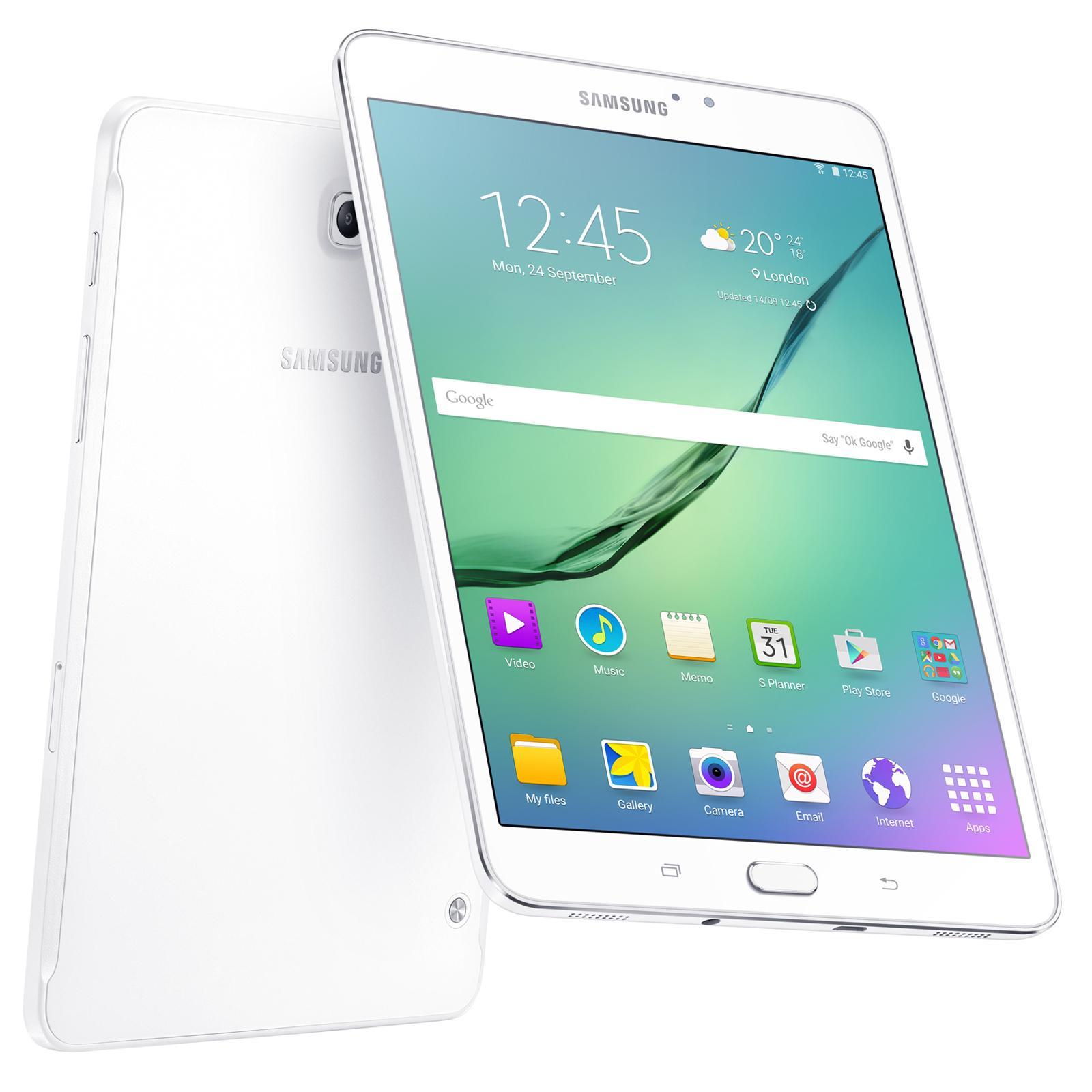 """Tablette 8"""" Samsung Galaxy Tab S2 - 32Go Blanc"""