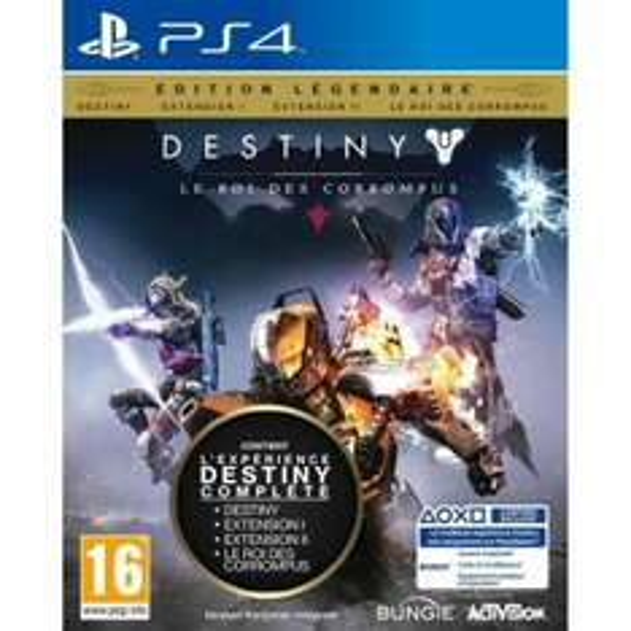 Jeu Destiny : Le Roi des Corrompus sur PS4 - Edition Légendaire