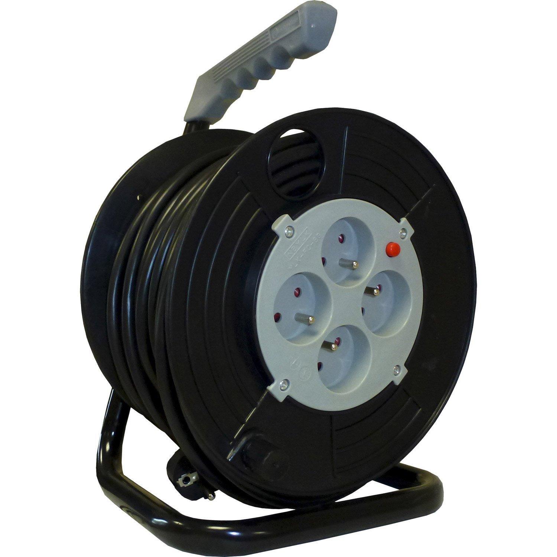 Enrouleur de câble électrique Electraline 25m