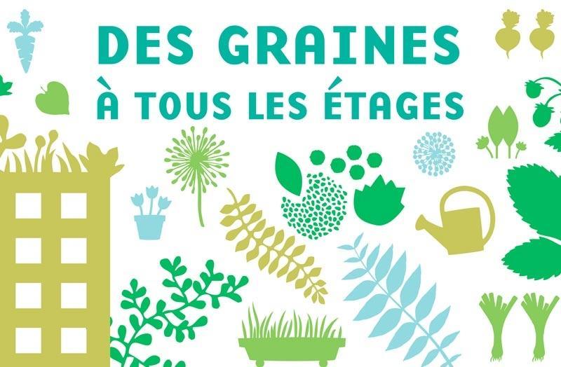 Distribution gratuite de 30 000 sachets de graines diverses