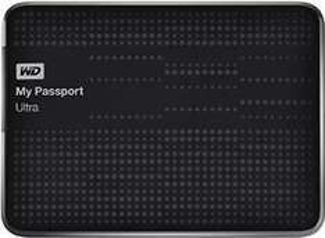 "Disque dur externe 2.5"" Western Digital My Passport Ultra 1.5 To - Noir"