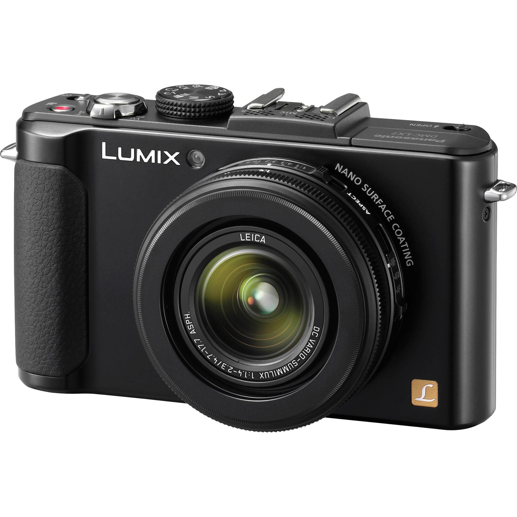 [Offre adhérents] Appareil photo numérique compact Panasonic Lumix DMC-LX7