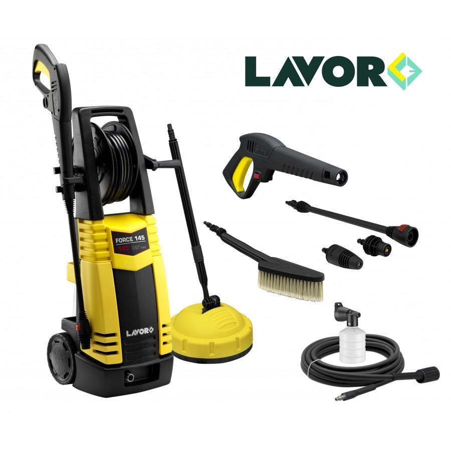 Nettoyeur haute pression Lavor 450 L/H (145 bars) avec accessoires