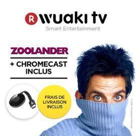 Clé HDMI Chromecast 2 + Zoolander