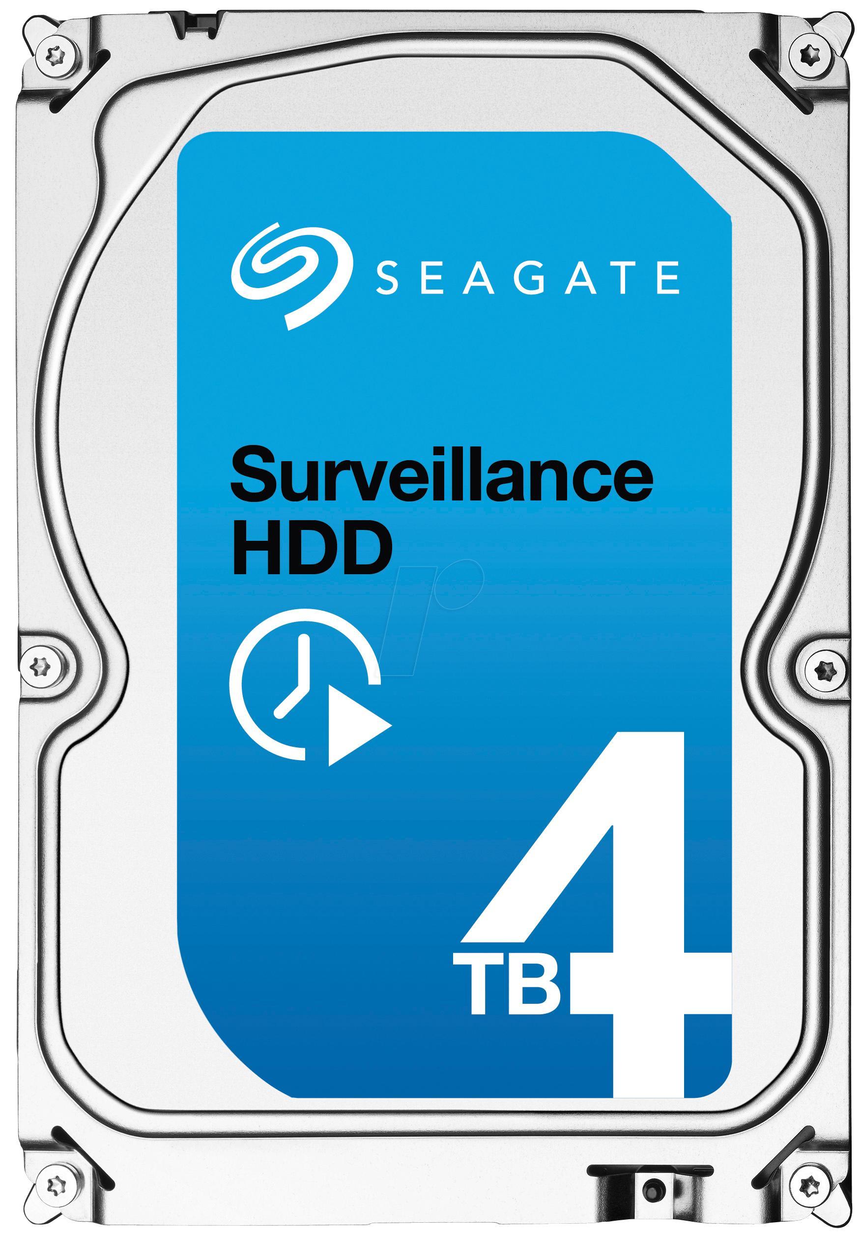 """Disque dur interne 3.5"""" Seagate ST4000VX000 (4 To SATA)"""