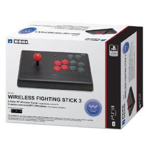 Manette arcade sans fil Hori Fighting Stick 3 PS3