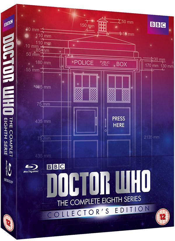 Coffret Blu-ray Doctor Who Saison 8 Edition Collector (Anglais Uniquement)