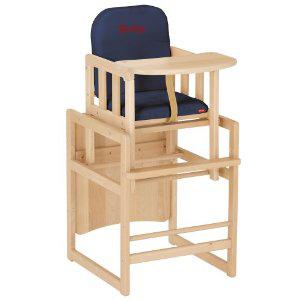 Chaise Haute  (Convertible en table) Herlag Kombi-Set TX - Couleur Navy