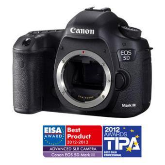 Reflex Canon EOS 5DIII - Boîtier nu (avec ODR 300€) + 427€ en chèques cadeaux