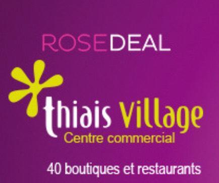 Rosedeal : 30€ à dépenser au centre commercial de Thiais Village