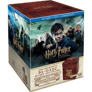 Harry Potter Le Coffret Ultime - Edition limitée et numérotée - L'intégrale des films 1 à 7 Partie B + Goodies - 13 DVD + 18 Blu-ray