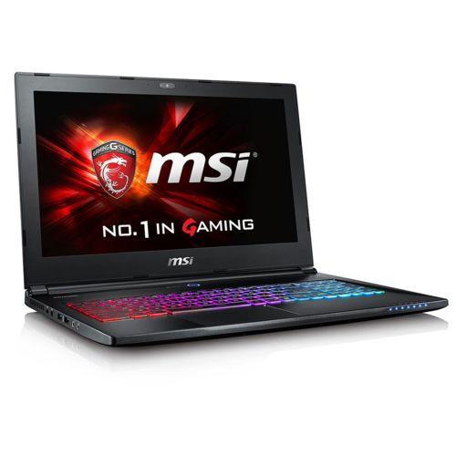 "PC portable 15.6"" 4K  MSI Ghost Pro GS60-6QE-402FR (i7-6700HQ, 16 Go Ram, 1 To HDD + 256 Go SSD, GTX 970M, Windows 10)"