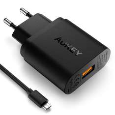 Chargeur Secteur USB Aukey  Quick Charge 3.0