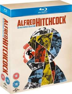 Coffret Blu-Ray Alfred Hitchcock : The Masterpiece Collection (VOSTFR)